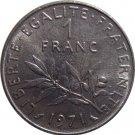 1971 France 1  Franc #2