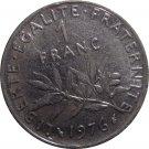 1976 France 1  Franc #2