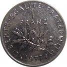 1977 France 1  Franc #2