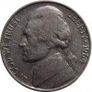 1964 D Jefferson Nickel (Whitman)
