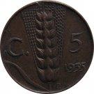 1935 Italy 5 Centesimi