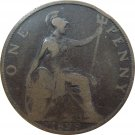 1899 Great Britain One Penny #2