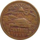 1946 Mexico 20 Centavos
