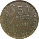 1951 France 50 Francs #2