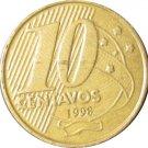 1998 Brazil 10 Centavo