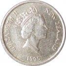 1995 New Zealand 5 Cents