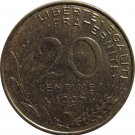 1997 France 20 Centimes