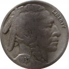 1937 S Buffalo Nickel