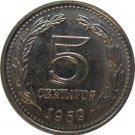 1959 Argentina 5 Centavo