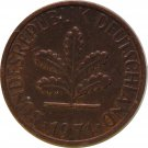 1971 G Germany 1 Pfennig