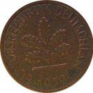 1979 F Germany 1 Pfennig