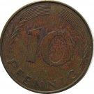 1982 J Germany 10 Pfennig