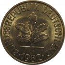 1982 D Germany 10 Pfennig