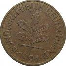 1994 D Germany 10 Pfennig