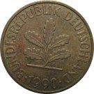 1990 J Germany 10 Pfennig