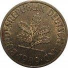 1989 D Germany 10 Pfennig