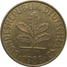 1988 F Germany 10 Pfennig