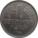 1956 G Germany 1 Mark