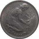 1970 D Germany 50 Pfennig