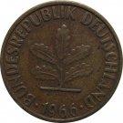 1966 F Germany 5 Pfennig