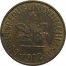 1982 D Germany 5 Pfennig