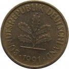 1991 A Germany 5 Pfennig