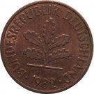 1982 G Germany 2 Pfennig