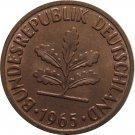 1965 D Germany 2 Pfennig