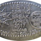 2017 MSNS Spring Show Elongated Nickel