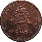 1992 Bahama 1 Cent