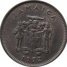 1972 5 Cents Jamaica
