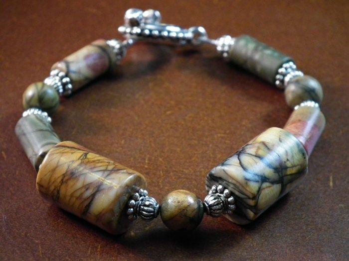 Picasso Jasper bracelet