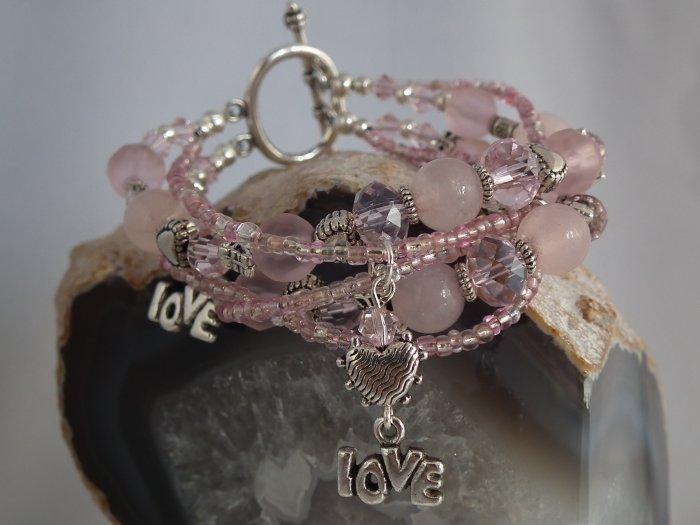 ***SOLD*** Rose Quartz Bracelet