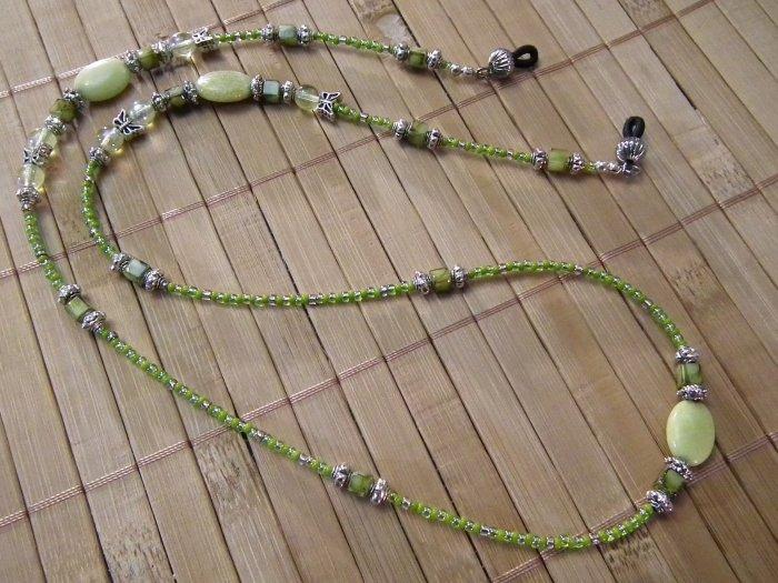 Lemon Jasper Eyeglass Chain