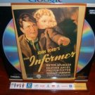 Laserdisc THE INFORMER (1935) John Ford FS Classic LD