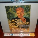 Laserdisc  THE MOST DANGEROUS GAME (1932) Joel McCrea Lot#2 SEALED UNOPENED Classic LD