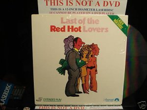 Laserdisc LAST OF THE RED HOT LOVERS (1972) Alan Arkin FS Rare LD