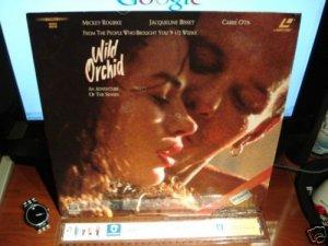 Laserdisc WILD ORCHID 1990 Mickey Rourke Lot#2 FS LD