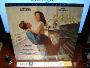 Laserdisc WHILE YOU WERE SLEEPING 1995 Sandra Bullock Lot#7 LTBX THX SEALED UNOPENED LD