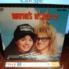 Laserdisc WAYNE'S WORLD 2 (Part II) 1993 Mike Myers Lot#2 LTBX SEALED UNOPENED LD