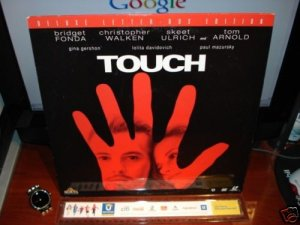 Laserdisc TOUCH 1997 Bridget Fonda DLX LTBX LD