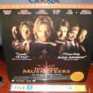 Laserdisc THE THREE MUSKETEERS 1993 Charlie Sheen Lot#2 LTBX THX LD