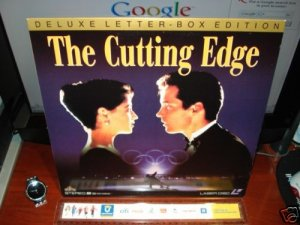 Laserdisc THE CUTTING EDGE 1992 DB Sweeney Lot#2 DLX LTBX LD