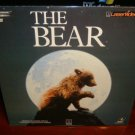 Laserdisc THE BEAR [Youk] 1989 Jack Wallace Lot#1 FS LD