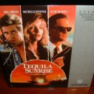 Laserdisc TEQUILA SUNRISE 1988 Mel Gibson Lot#1 FS LD