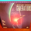Laserdisc STAR TREK VII: GENERATIONS 1994 Patrick Stewart Lot#4 LTBX THX AC3 LD