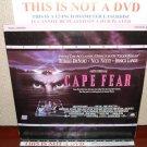 Laserdisc CAPE FEAR 1991 Robert de Niro Lot#5 LTBX LD