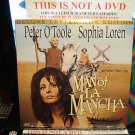 Laserdisc MAN OF LA MANCHA (1972) Lot#2 DLX LTBX SEALED UNOPENED Classic LD