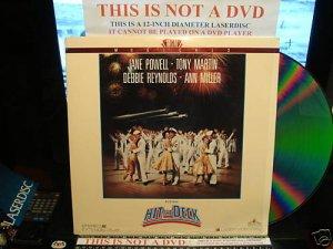 Laserdisc HIT THE DECK (1955) Jane Powell Classic Musicals LD