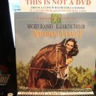 Laserdisc NATIONAL VELVET (1945) Mickey Rooney Lot#2 50th Aniv Ed SEALED UNOPENED Classic LD